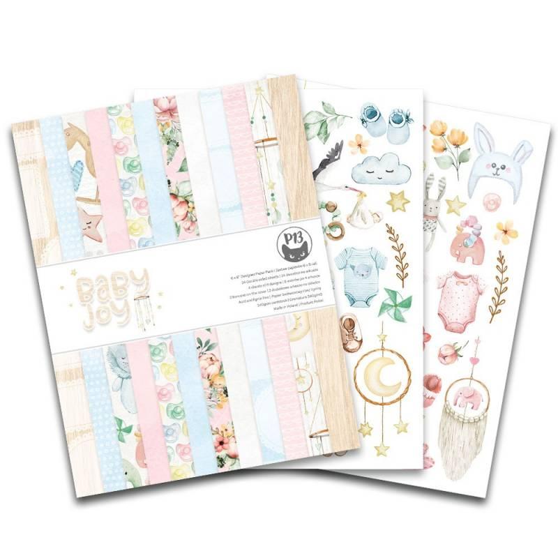 """Paper Pad Baby Joy, 6x8"""""""