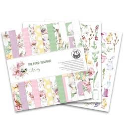 """Bloczek papierów The Four Seasons - Spring, 12x12"""""""