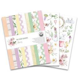 """Bloczek papierów The Four Seasons - Spring, 6x8"""""""