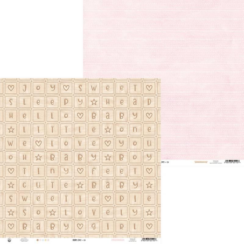"""Paper Baby Joy 01, 12x12"""""""
