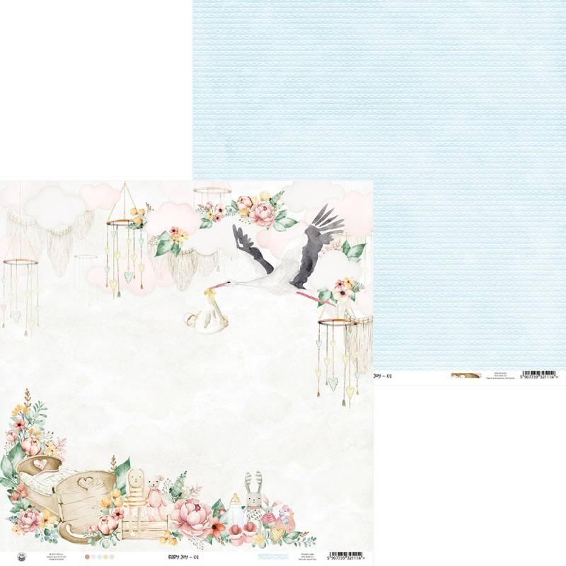"""Paper Baby Joy 02, 12x12"""""""