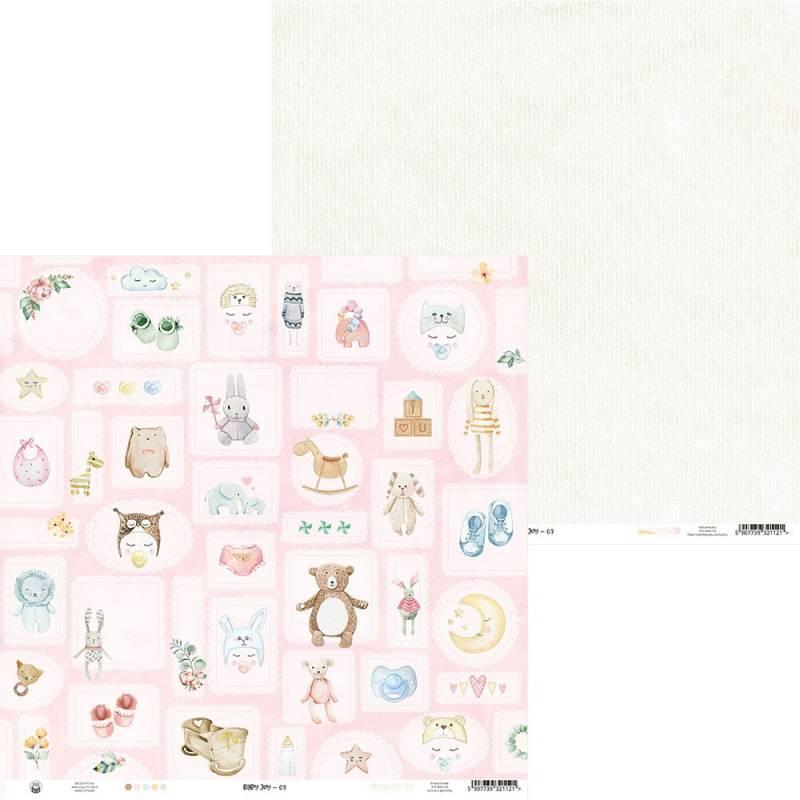 """Papier Baby Joy 03, 12x12"""""""