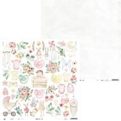 "Paper Baby Joy 07a, 12x12"""