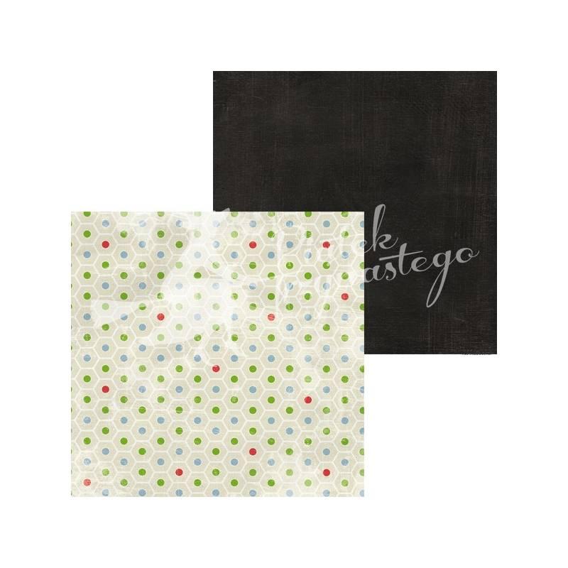 """Paper Colours - Black, 12x12"""""""