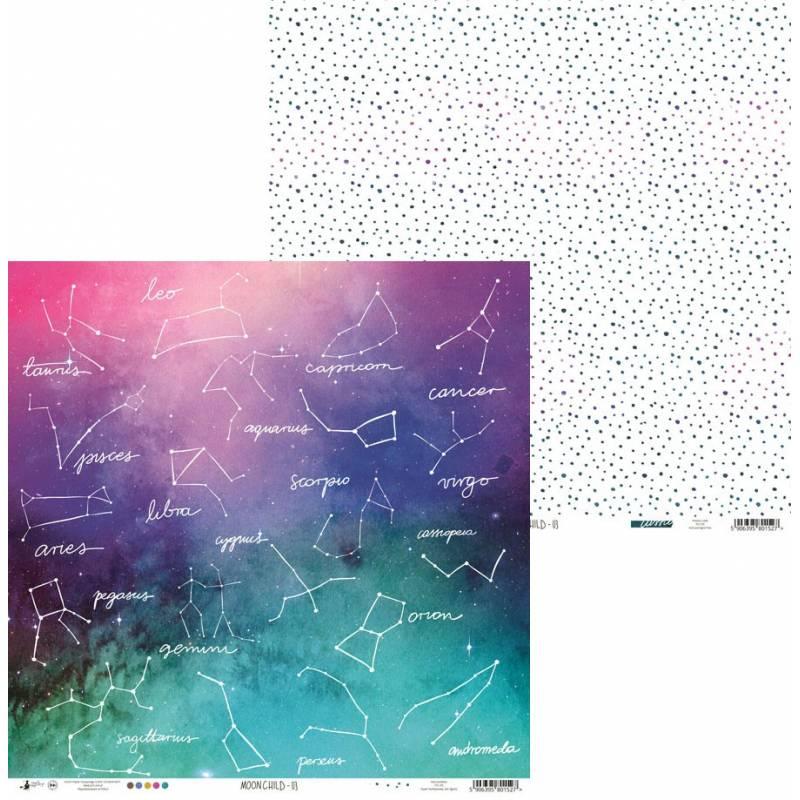 """Papier Moonchild 03, 12x12"""""""