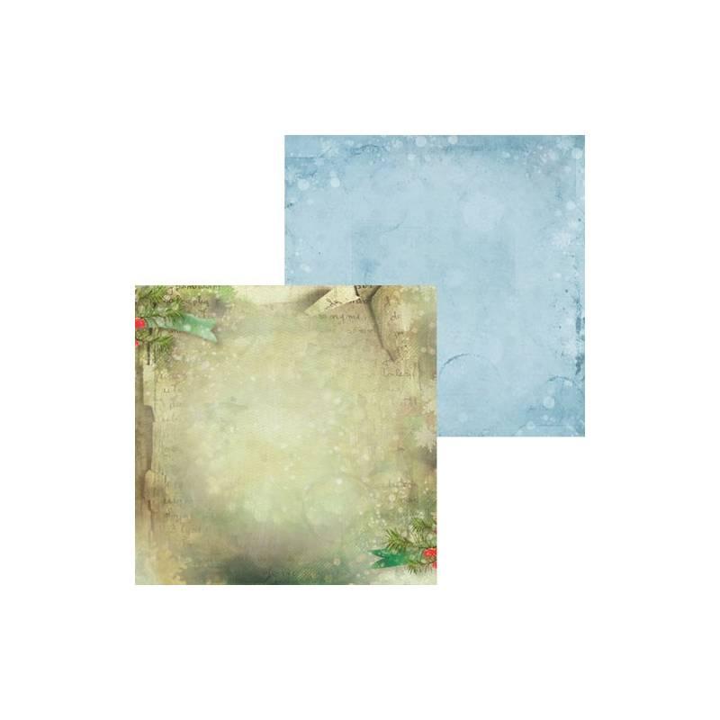 "Paper Season's greetings 03, 12x12"""
