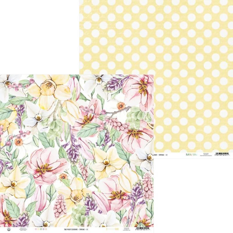 "Papier The Four Seasons - Spring 01, 12x12"""