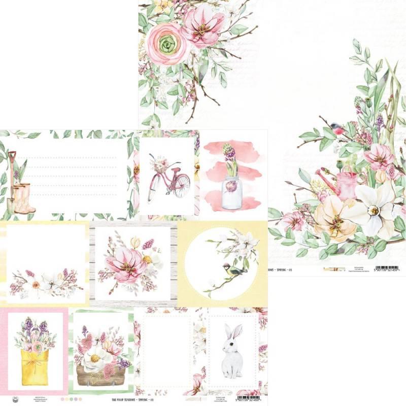 "Papier The Four Seasons - Spring 05, 12x12"""