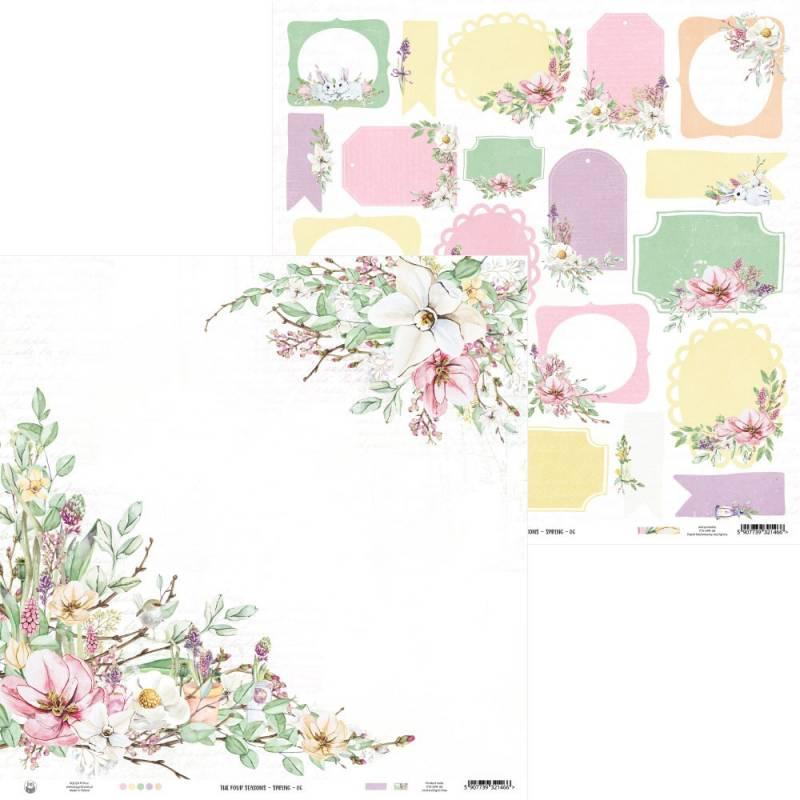 "Papier The Four Seasons - Spring 06, 12x12"""