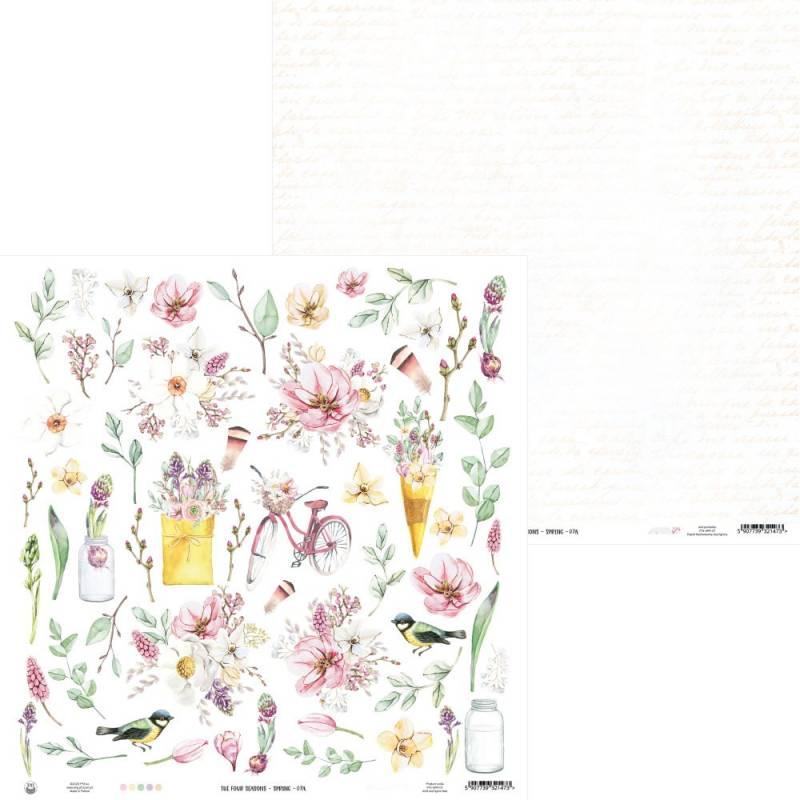 "Papier The Fours Seasons - Spring 07a, 12x12"""