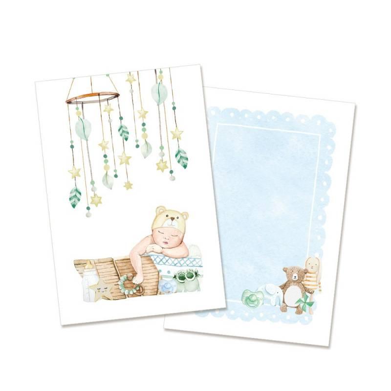 "Set of cards Baby Joy Boy, 6x4"""