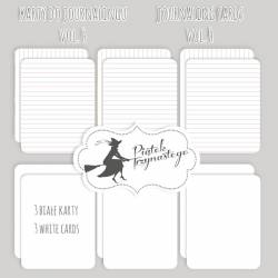 Set of journaling cards vol.4, 3x4""