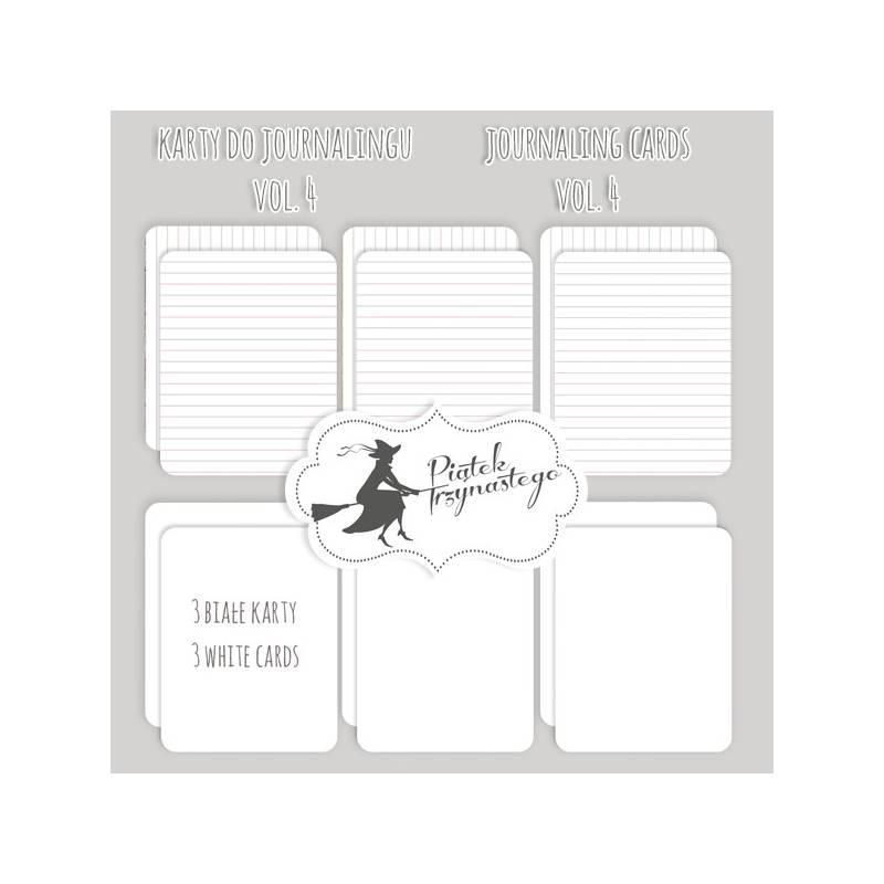 "Set of journaling cards vol.4, 3x4"""