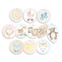 Decorative Tags Baby Joy 01