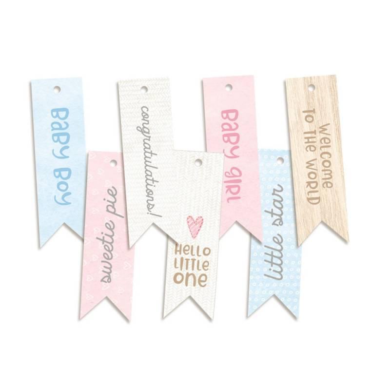 Decorative Tags Baby Joy 02