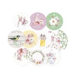 Zestaw tagów The Four Seasons - Spring 01