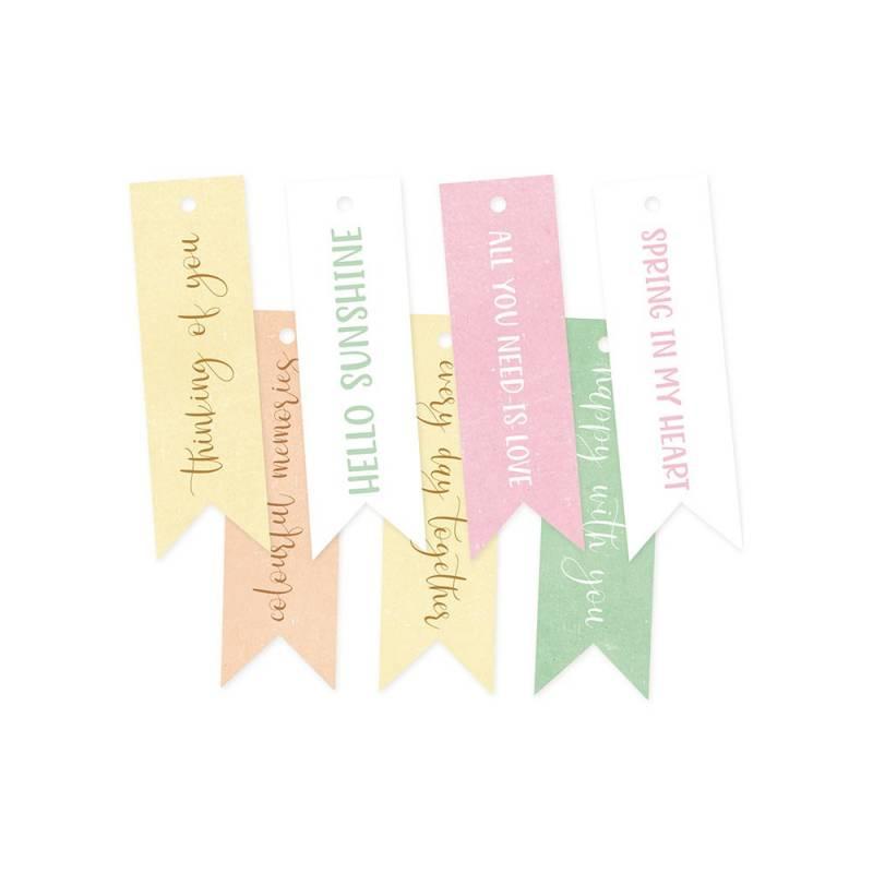 Zestaw tagów The Four Seasons - Spring 02