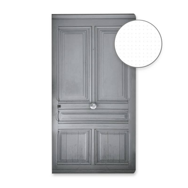 Dot Journal Grey door
