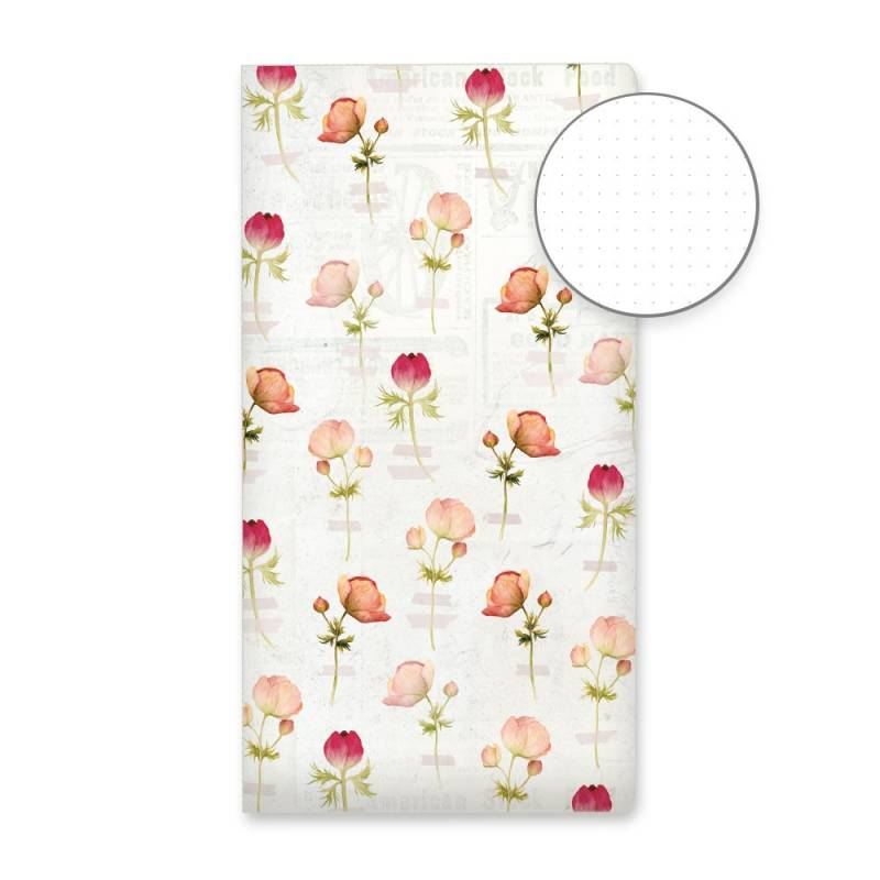 Dot Journal Flower wall