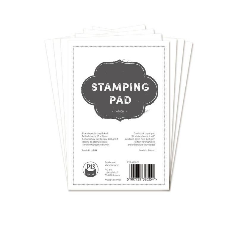 "Bloczek papierów do stemplowania Stamping Pad, 6x4"""