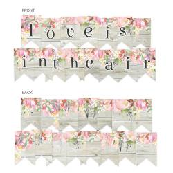 Banerek / die cut Love in Bloom, 15 szt.