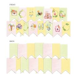 Banner/ die cut paper Sunshine, 15 pcs.