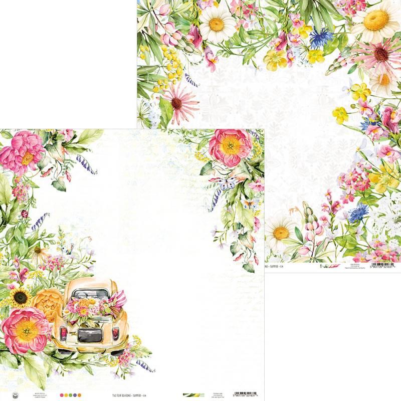 "Papier The Four Seasons - Summer 04, 12x12"""