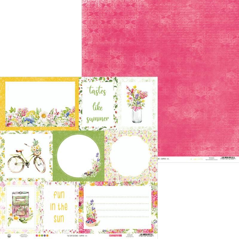 "Papier The Four Seasons - Summer 05, 12x12"""