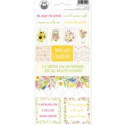 Sticker sheets The Four Seasons - Summer 02, 10,5 x 23cm