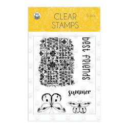 Clear stamp set The Four Seasons - Summer, 5 pcs.