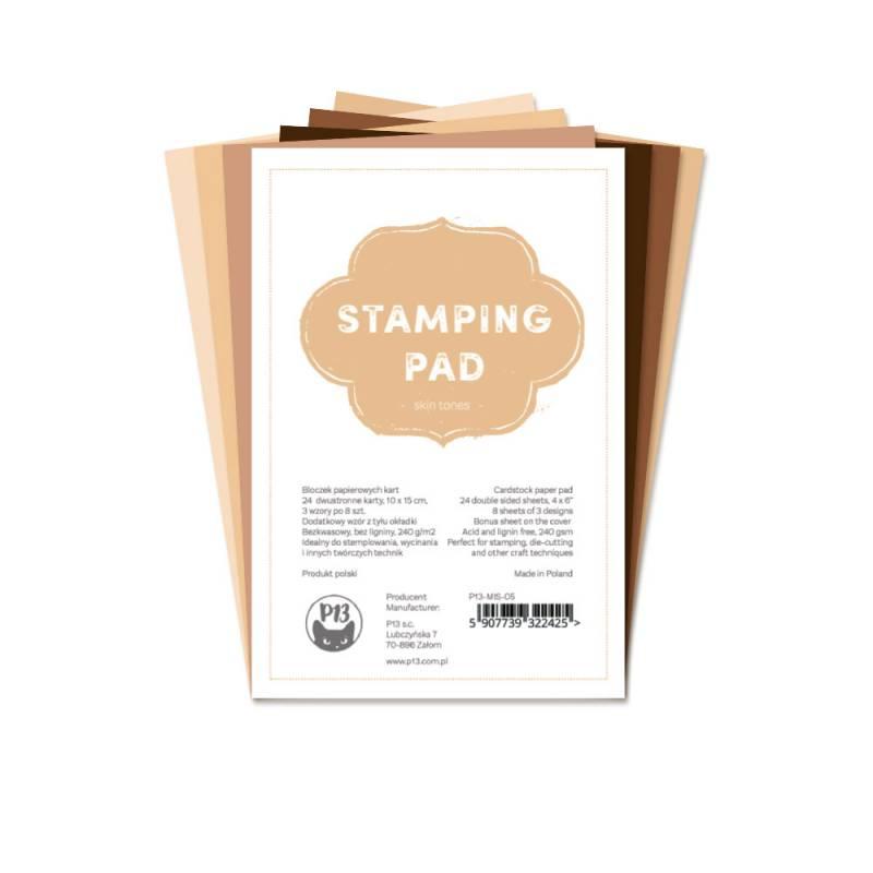 "Stamping Pad Skin Tones, 6x4"""
