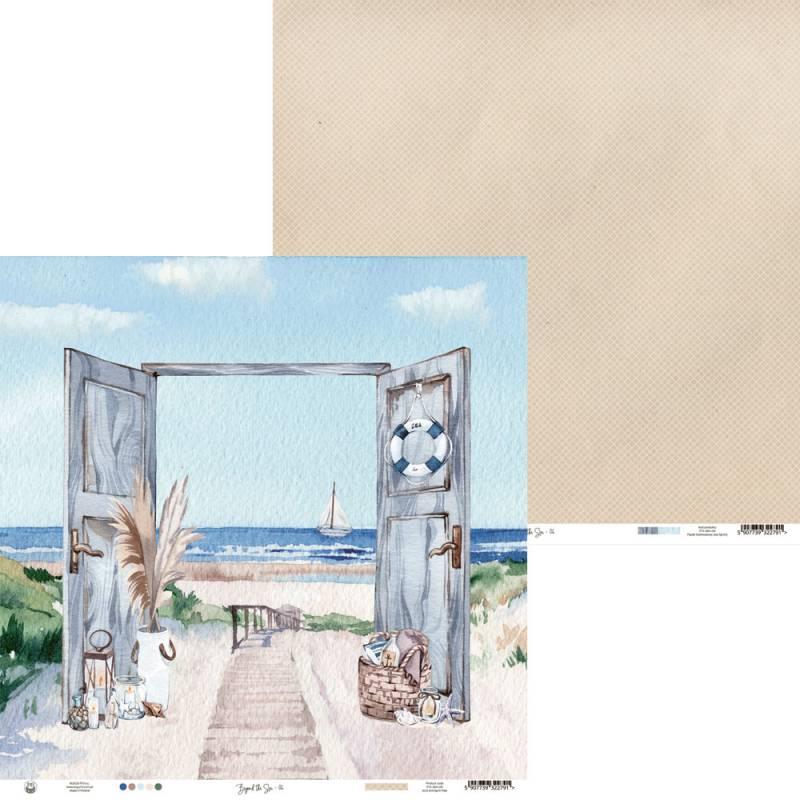 "Papier Beyond the Sea 06, 12x12"""