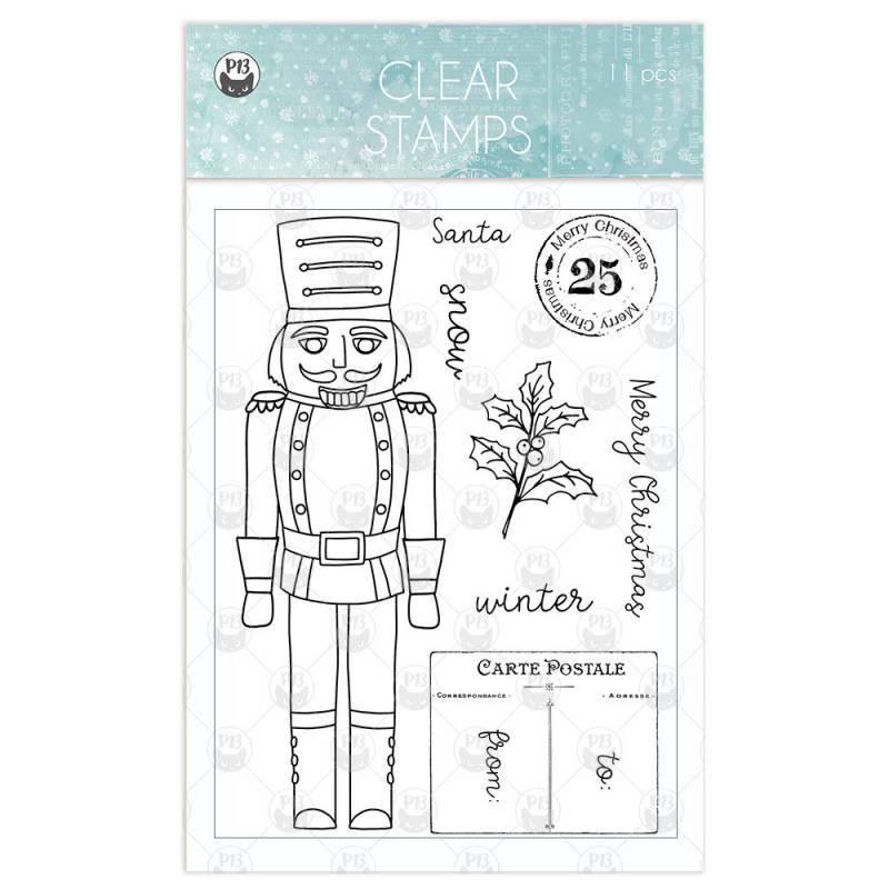 Zestaw stempli The Four Seasons - Winter 01 , 11 szt.