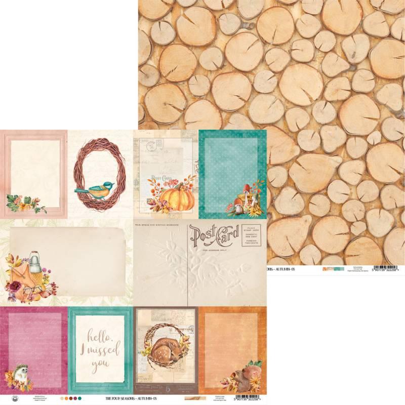 "Papier The Four Seasons - Autumn 05, 12x12"""