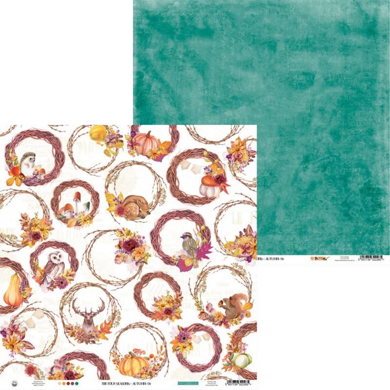 "Paper The Four Seasons - Autumn 06, 12x12"""