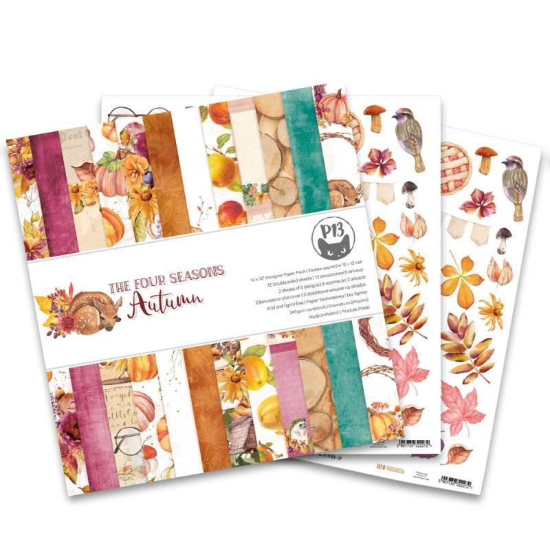 """Bloczek papierów The Four Seasons - Autumn, 12x12"""""""