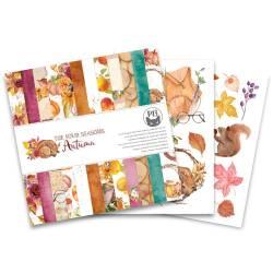 """Bloczek papierów The Four Seasons - Autumn, 6x6"""""""