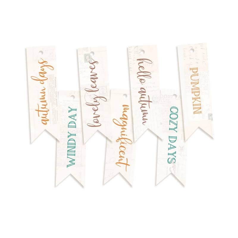 Decorative Tags The Four Seasons - Autumn 02