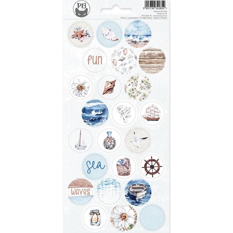 Sticker Sheet Beyond the Sea 03, 10,5 x 23cm