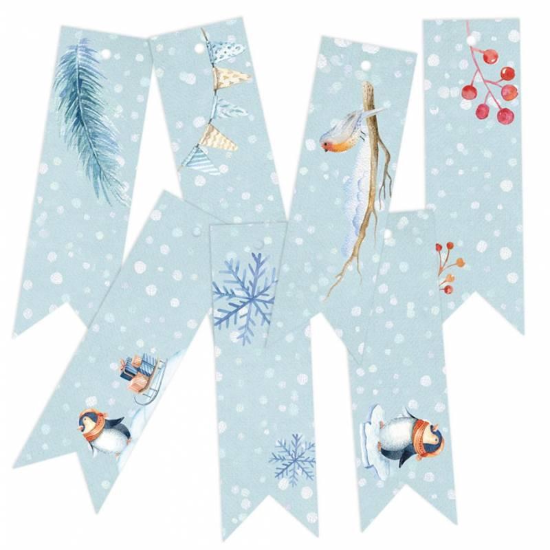 Decorative Tags North Pole 02