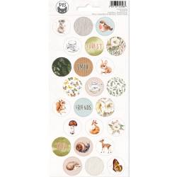 Sticker sheet Forest tea party 03, 10,5 x 23cm