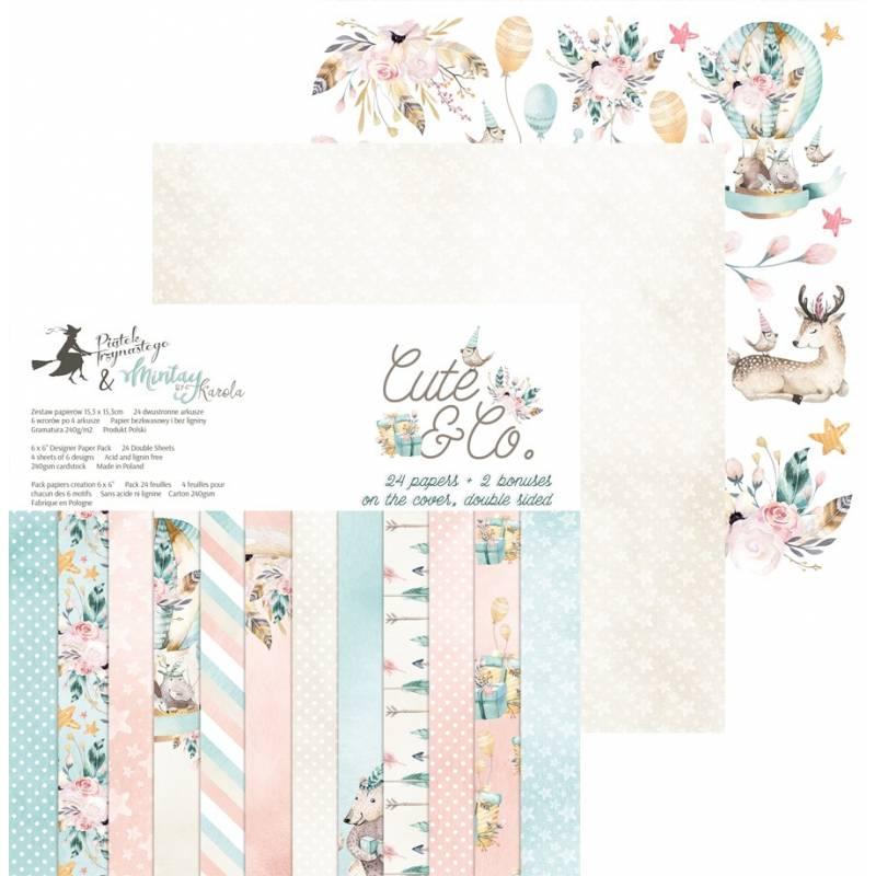 """Paper pad Cute & Co., 6x6"""""""