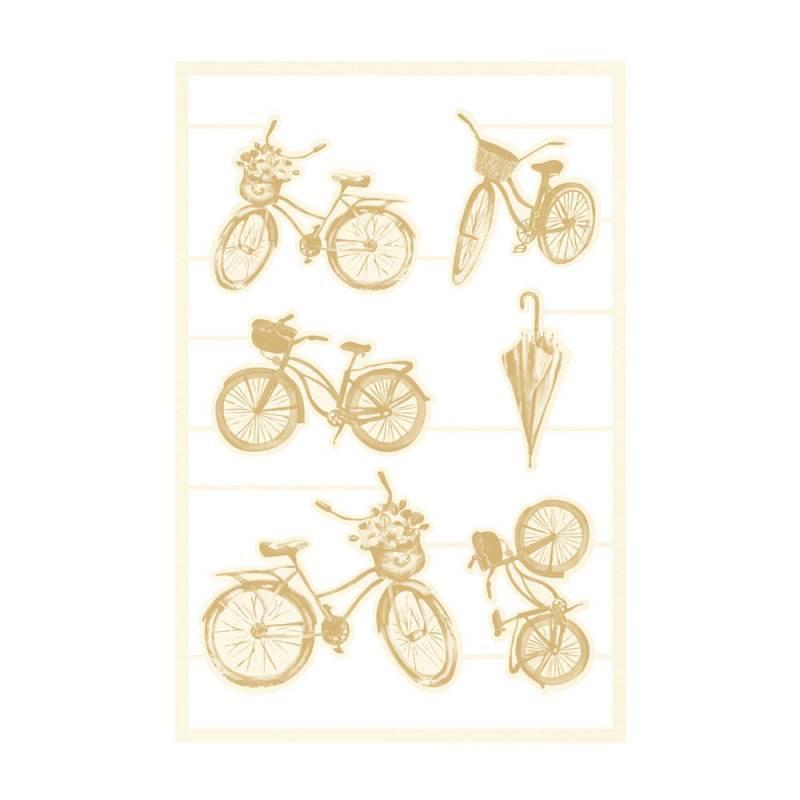 Light chipboard embelishments The Four Seasons - Spring 03, 9pcs