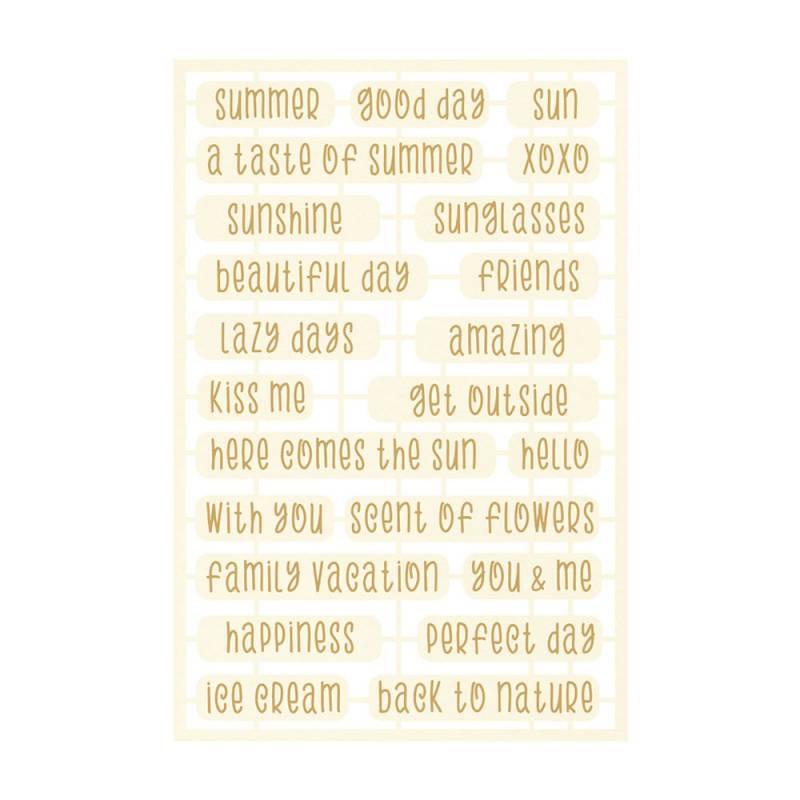 Zestaw tekturek The Four Seasons - Summer 06, 23szt.