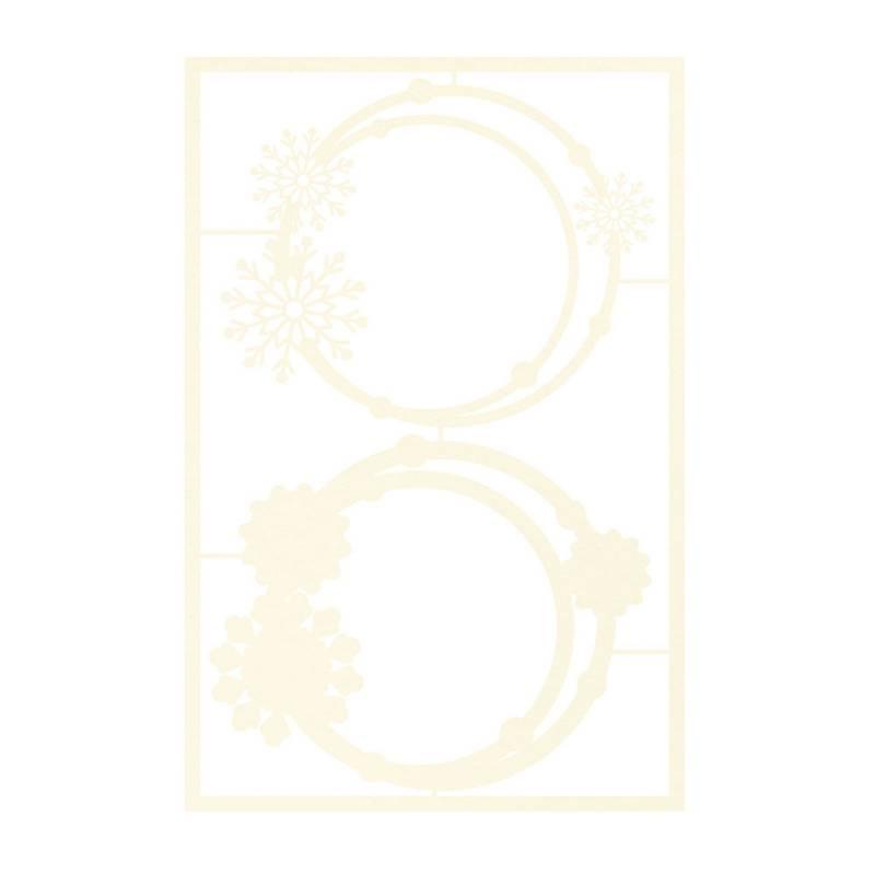 Zestaw tekturek The Four Seasons - Winter 01, 2szt.