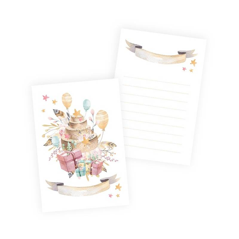 """Set of cards Cute & Co. Girl, 6x4"""""""