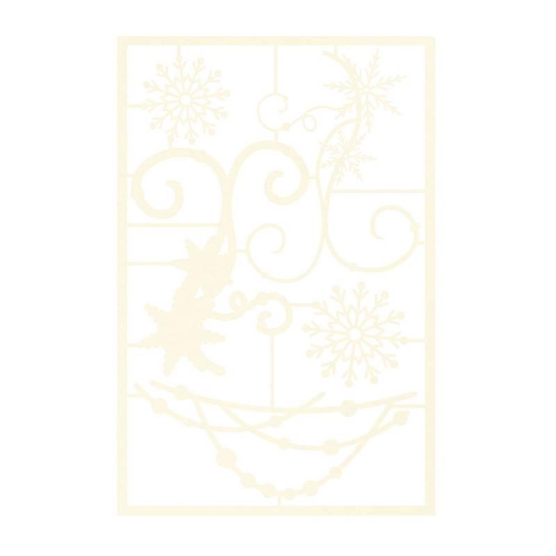 Light chipboard embelishments The Four Seasons - Winter 02, 5pcs