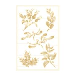 Light chipboard embelishments The Four Seasons - Winter 03, 6pcs
