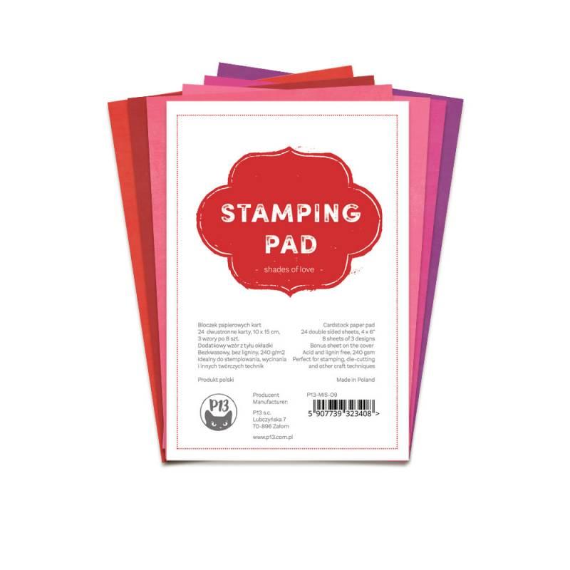 "Stamping Pad Shades of Love, 6x4"""