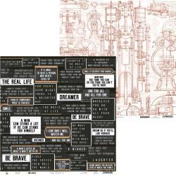 """Paper Free Spirit 01, 12x12"""""""
